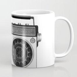 cassette recorder / audio player - 80s radio Coffee Mug