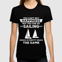 Sailing T-Shirt Funny Play Sailing Gift Tee T-shirt