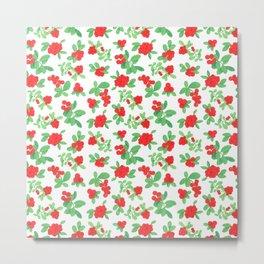 Lingonberry Metal Print
