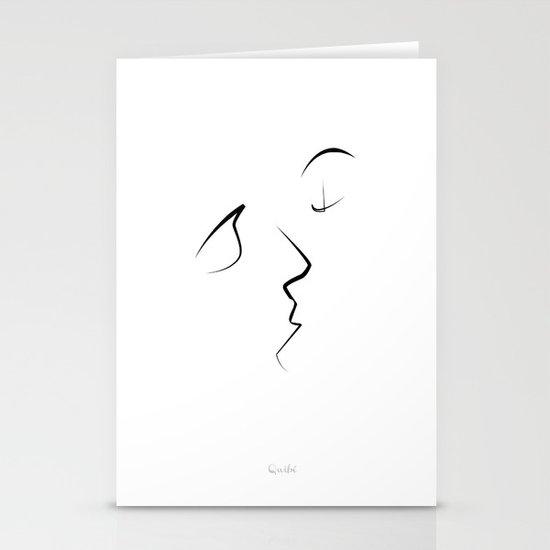 Kiss/beso/kuss/baiser/beijo/ Stationery Cards