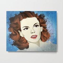 Judy Garland Metal Print