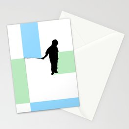 Fishing for Color Stationery Cards