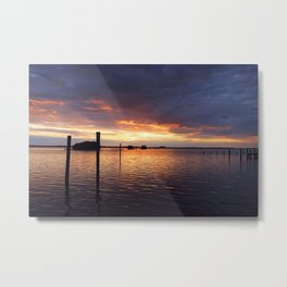 An Evening with Friends Metal Print