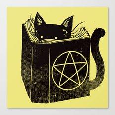 Witchcraft Cat Canvas Print