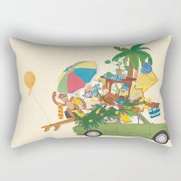 travel tour! Rectangular Pillow