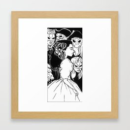 Labyrinth- Sarah Framed Art Print