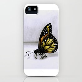 Surrealist Butterfly. iPhone Case