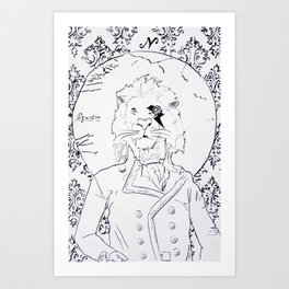 Richard Coeur Art Print