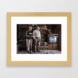 Grandparents  Framed Art Print