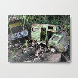 Rusty Toy Trucks Metal Print