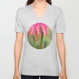 Flower Talk Unisex V-Neck