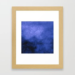 Abstract Cave X Framed Art Print