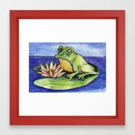 Leap Framed Art Print