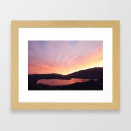 Lake Rotoiti Framed Art Print