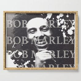 Bob M Print Serving Tray