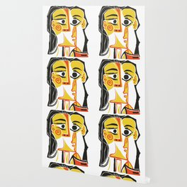 Picasso - Woman's head #2 Wallpaper