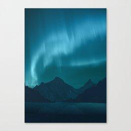 Ice Aurora Canvas Print