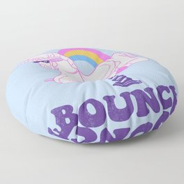 Time To Bounce Floor Pillow