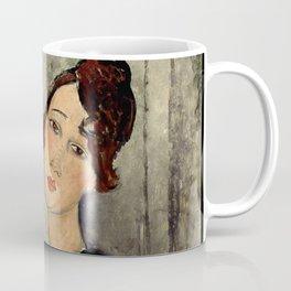 "Amedeo Modigliani ""Portrait of Dedie"" Coffee Mug"