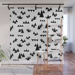 Nordic trees Wall Mural