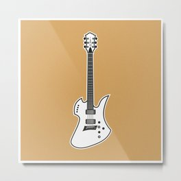 B.C. Rich Mockingbird Metal Print