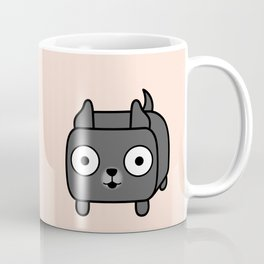 Pitbull Loaf - Blue Pitbull with Cropped Ears Coffee Mug