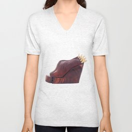 Eat your heart out.  Unisex V-Neck