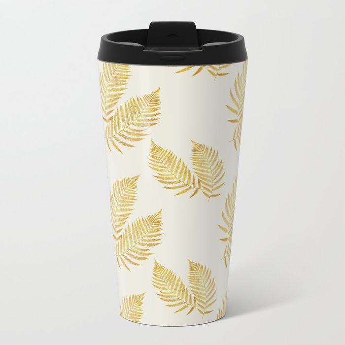 Fern Metal Travel Mug