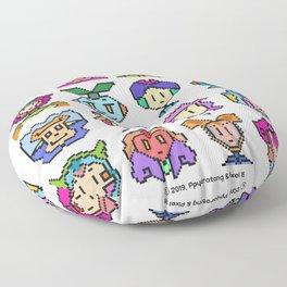 Ppyorotong & Pixel 16 Floor Pillow