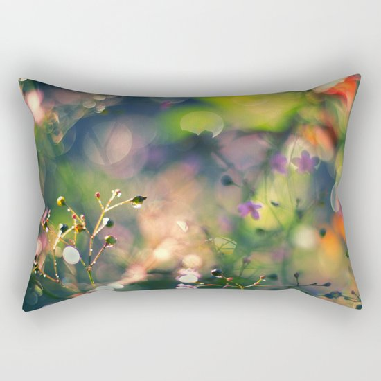 The Rainbow Forest I Rectangular Pillow