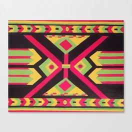 Rasta Tribal Canvas Print