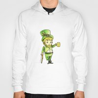 niall Hoodies featuring Leprechaun Niall by Drawpassionn