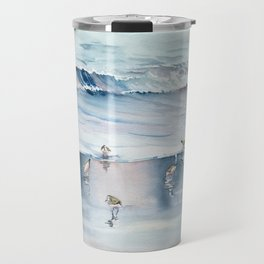 On The Beach Travel Mug
