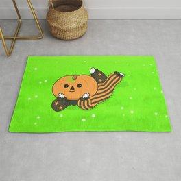 pumpkin boi layin'  Rug