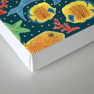 Sea Life Print Canvas Print