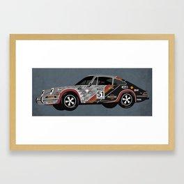 Porsche 911 Framed Art Print