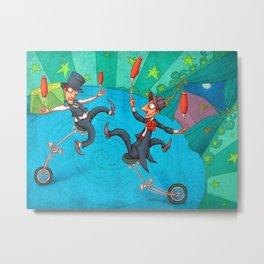 Circus 3 Metal Print