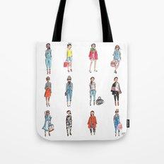 Favorite Sketches Tote Bag