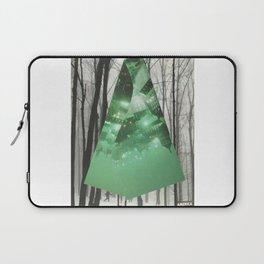 Emerald in the Trees Laptop Sleeve