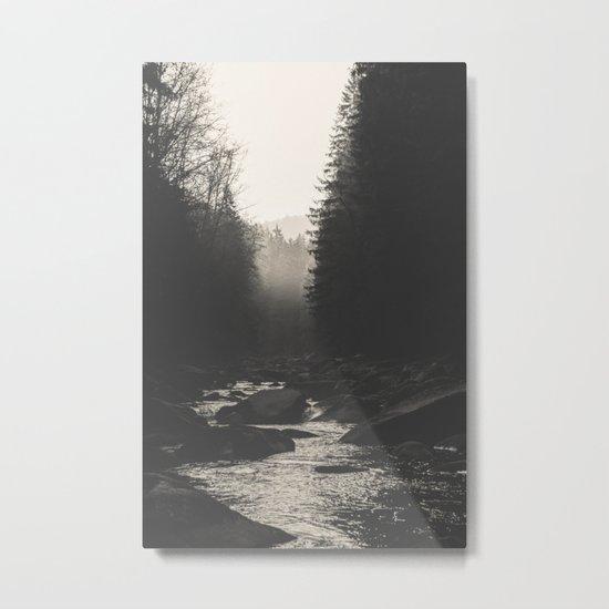 Morning river Metal Print
