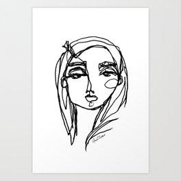 LINA {Lost Love} Art Print