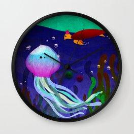 Mr. Jellyfish Wall Clock