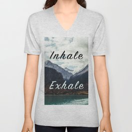 Inhale Exhale Unisex V-Neck