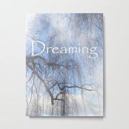 Dreaming - Veiled Metal Print