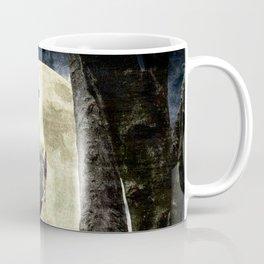 Barn Owl Bird Moon Modern Country Decor Farmhouse Art A497 Coffee Mug
