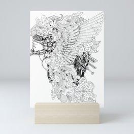 Robo Angel Mini Art Print