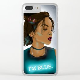 The raven cycle / Blue Sargent Clear iPhone Case