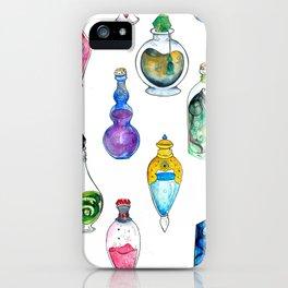Potion Bottle Print iPhone Case
