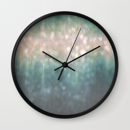 Evening Glowing Lights Abstract Wall Clock
