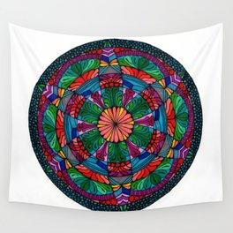 Mandala Daisy Wall Tapestry